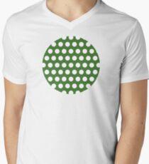 dots, medium green and white T-Shirt