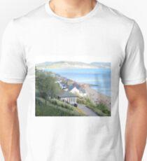 Lyme Regis from gardens Unisex T-Shirt