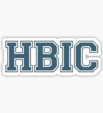 Pegatina HBIC (la versión de Cheryl sin corona)