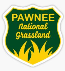 Pawnee National Grassland Sticker