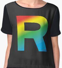 Team Rainbow Rocket Women's Chiffon Top