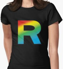 Team Rainbow Rocket Women's Fitted T-Shirt