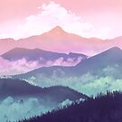 Misty Mountains by kickingshoes