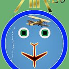 AIR HEAD Design -Tiger Moth ribbon cut 2, Temora 2007 by muz2142