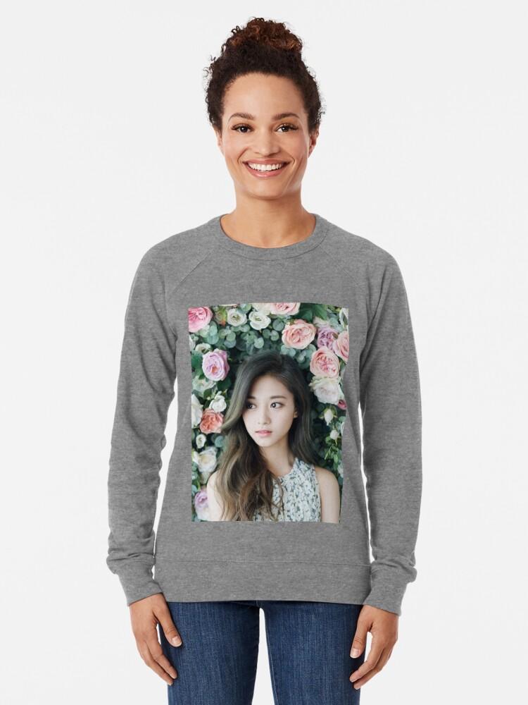 Alternative Ansicht von Zweimal Tzuyu Leichter Pullover