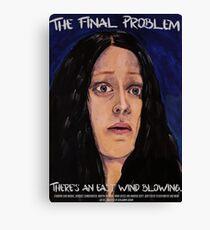 Sherlock- The Final Problem Canvas Print