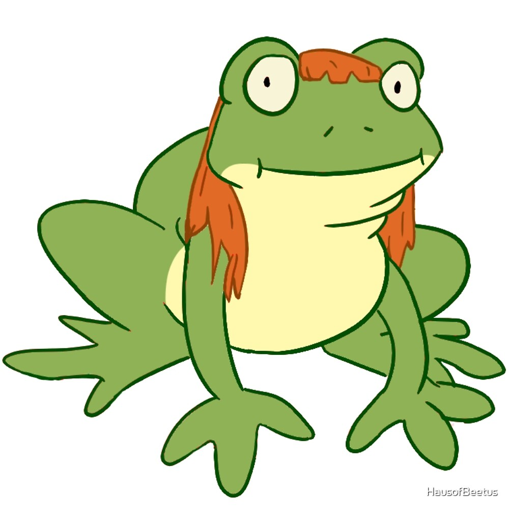 frog in a wig\