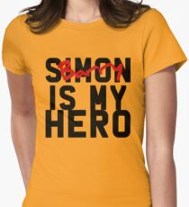 Sim-Barry is my hero Women's Fitted T-Shirt