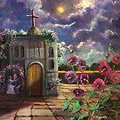 Iglesia Antigua En Mexico/Little Old Church In Mexico by Randy Burns