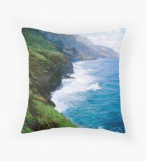 Kalalau Trail Throw Pillow