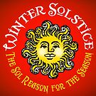 WINTER SOLSTICE - The Sol Reason for the Season  by atheistcards