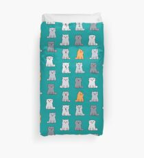 Nine cute kittens Duvet Cover