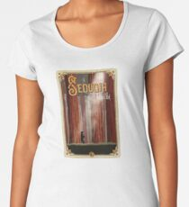 Sequoia National Park Travel Decal Women's Premium T-Shirt
