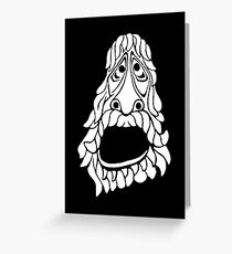 FACE FROM A NIGHTMARE (The Avengers) Greeting Card