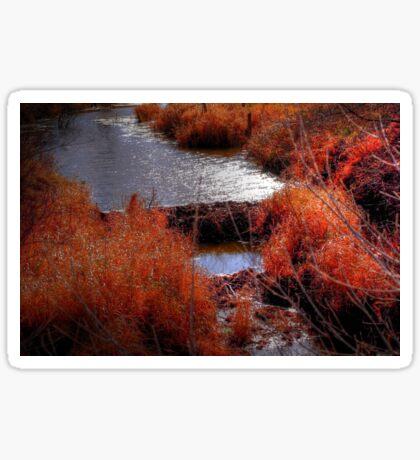 Autumn Grasses  Sticker