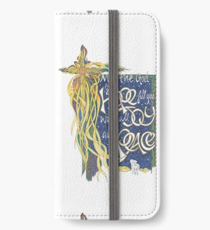 God of Hope iPhone Wallet