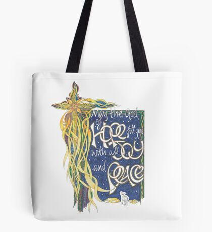 God of Hope Tote Bag