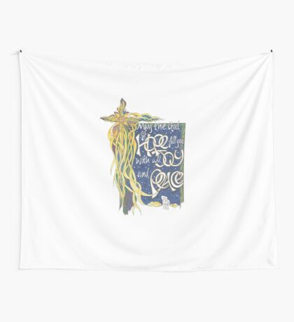 God of Hope Wall Tapestry