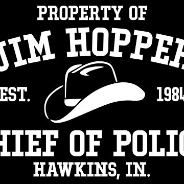 Jim Hopper - Stranger Things by KisArt