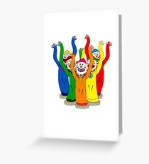 Weird & Wacky Waving Inflatable Arm Flailing Tube Man Greeting Card