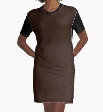 Zinnwaldite Brown Graphic T-Shirt Dress