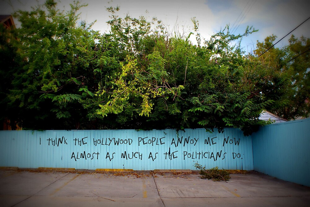 Hollywood People & Politicians by Shannon Byous Ruddy