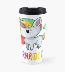 Bernadette Unicorn Travel Mug