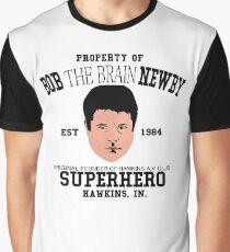 Stranger things 2 - Bob The Brain Newby - Super hero Graphic T-Shirt