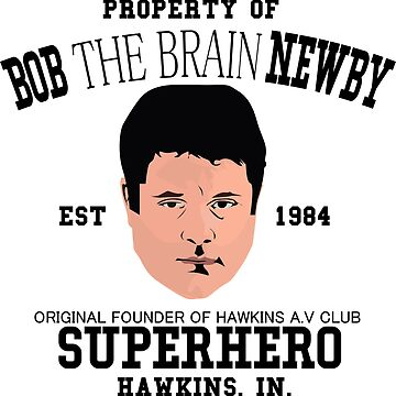 Stranger things 2 - Bob The Brain Newby - Super hero by martianart
