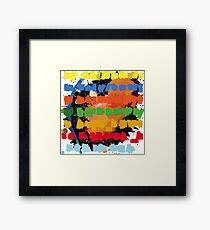 In Rainbows - Artists Rendition Framed Print