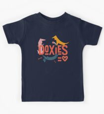 Doxies are Love Kids T-Shirt