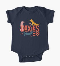 Doxies are Love One Piece - Short Sleeve