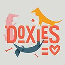Doxies are Love by gingerish
