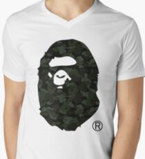 bape camo Men's V-Neck T-Shirt