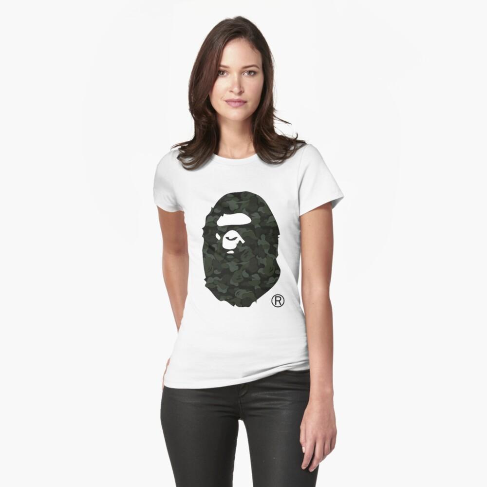 bape camo Womens T-Shirt Front