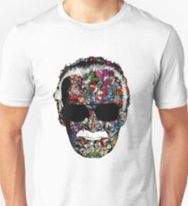 "Stan Lee ""Man of many faces"" Unisex T-Shirt"