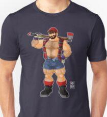 ADAM LIKES LUMBERJACKS Unisex T-Shirt
