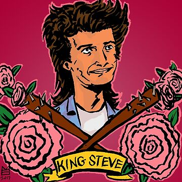 King Steve and the Fabulous Hair! by mmerys