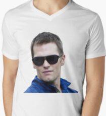 Funny Tom Brady Men's V-Neck T-Shirt