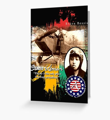 bessie coleman Greeting Card