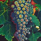 White Wine Grapes by Lori Elaine Campbell