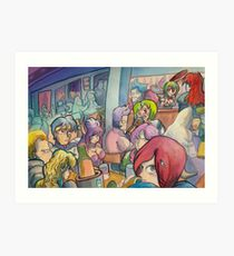 Phantasy Bar 2 Art Print