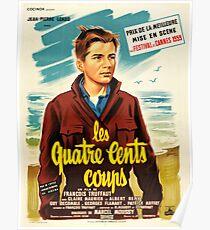 The 400 Blows Les Quatre Cents Coups Poster