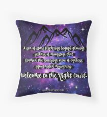 The Night Court ACOMAF Quote Throw Pillow