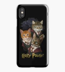 Hairy Pawter iPhone Case/Skin