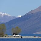 On the road to Glenorchy by PhotosByG