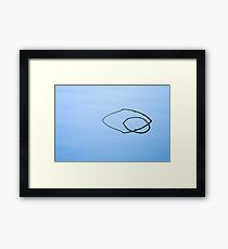 Arcs Framed Print