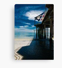Brighton Jetty. Canvas Print