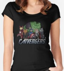 The Catvengers Fitted Scoop T-Shirt