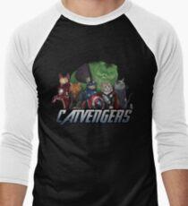 The Catvengers Men's Baseball ¾ T-Shirt